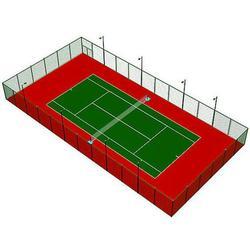 亚强体育|【丙烯酸网球场建设】|周口丙烯酸网球场图片