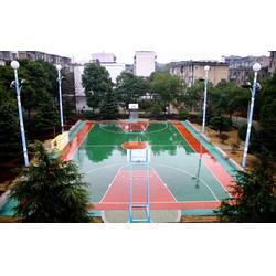 PU球场-亚强体育PU球场-PU球场羽毛球场建设图片