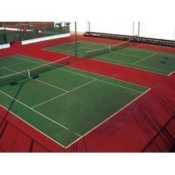 长治丙烯酸网球场,亚强体育,丙烯酸网球场施工图片