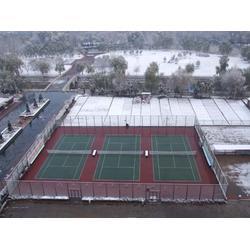塑胶网球场,塑胶网球场建设,塑胶网球场施工图片