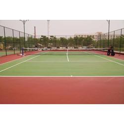 网球场施工|满洲里丙烯酸网球场|亚强体育图片