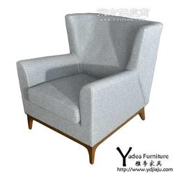 科尔椅子布艺沙发椅创意家具图片