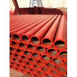 125混凝土输送泵泵管胶圈直销_盐山泽发泵管生产厂家_泵管图片