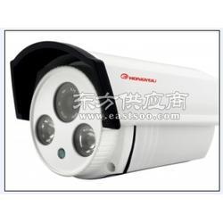 宏优视讯监控器材、海康威视摄像机、监控图像清晰度做对比图片