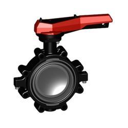 气动衬氟蝶阀生产商-销售气动衬氟蝶阀-远通,气动调节蝶阀图片