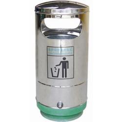 垃圾桶-购买垃圾桶首选明鑫交通-钢木垃圾桶图片