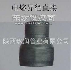 玖润牌钢丝网骨架管件电熔异径直接图片