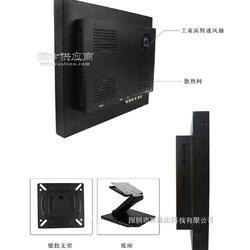 21.5寸高清工业级铁壳监视器 金属外壳监视器 宽屏图片