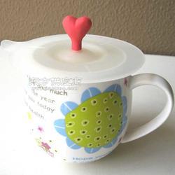 爱心硅胶杯盖创意硅胶杯盖简约硅胶杯盖图片