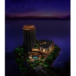 南昌灯光,中业城市景观照明设计,夜景照明亮化施工图片