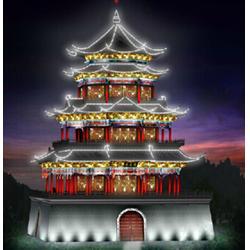 江西夜景亮化,中业照明设计标准,夜景亮化规划图片