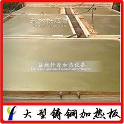 供应铸铜加热器 铸铜加热板 轩源科技图片