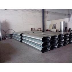 越秀法兰加工,兴业白铁风管生产安装厂家,共板法兰加工哪家好图片