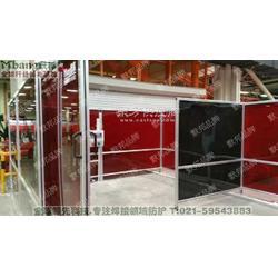 新一代高品質默邦焊接機器人專業防護圍欄,焊接防護圍擋圖片