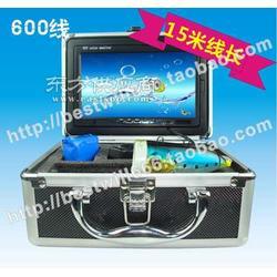 7寸可视钓鱼器 有线探鱼器 15米水下摄像头 钓鱼乐图片