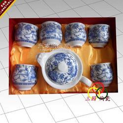 陶瓷手绘茶具厂家图片
