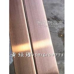 304不锈钢圆管40x0.6mm8K光面拉丝镀钛金图片
