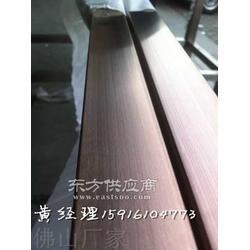 304不锈钢圆管9.5x1.2mm8K光面拉丝镀钛金图片