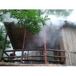 别墅人工造雾设备_贝克喷雾品牌_山西人工造雾设备图片