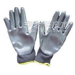 尼龙PVC浸胶手套图片