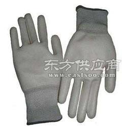 碳纤维防静电PU涂指手套图片