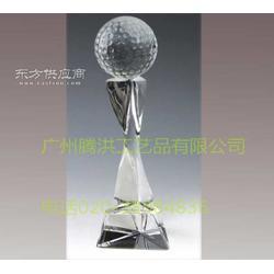 水晶奖杯厂家销售足球比赛奖杯包刻字加logo图片