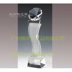 水晶獎杯廠家銷售五一建設講座水晶獎杯包刻字加logo圖片