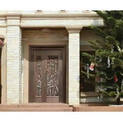 钢城别墅门、大海铜门老厂品质价优、别墅门庭院门图片