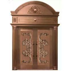 铜门-大海门业种类全-别墅铜门定做图片