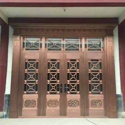 别墅门-新款铜门到大海铜门-断桥别墅门窗图片