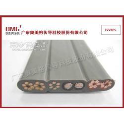 带屏蔽视频扁形电梯电缆TVVBPS随行电缆图片