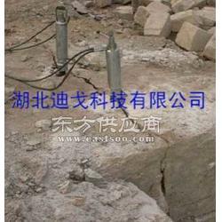 不用放炮岩石分裂机械图片