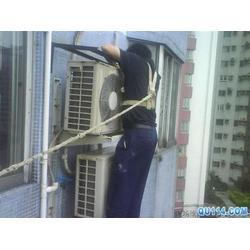 空调安装、正规收费统一保修、西丽美的空调安装拆卸维修图片