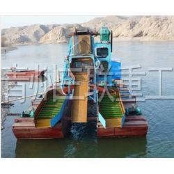 青州淘金船生产厂家、淘金船生产厂家、三联重工设备(图)图片