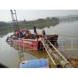 三联重工设备_采金船_大型采金船开采方法图片