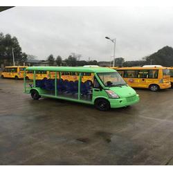 燃油观光车-三缸燃油观光车-欧倢电动观光车(优质商家)图片