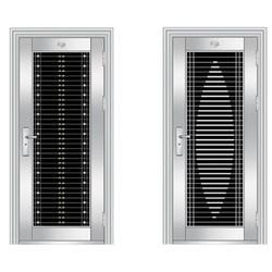 不锈钢大门定做、仁译门窗(在线咨询)、吉安不锈钢大门图片