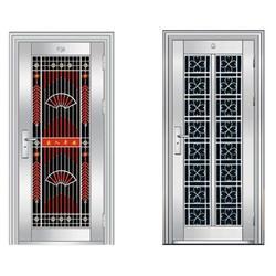 萍乡不锈钢门|仁译门窗|不锈钢门制造厂图片