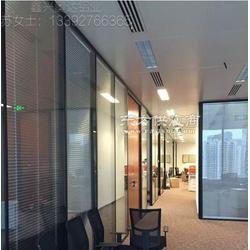 玻璃隔断铝型材五金合页连接件图片