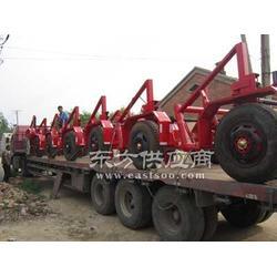 电缆拖车 电缆放线架机动绞磨厂家图片