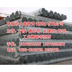 【四川镀锌管】,1.5寸3.25友发镀锌管公司,众盛钢铁图片