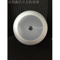 a定做亚克力圆球、半球罩、防护罩、灯罩、奶白灯罩,防尘罩图片