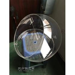 d定做有机玻璃圆球,亚克力半球罩,灯罩,亚克力糖果盒,储物罩图片