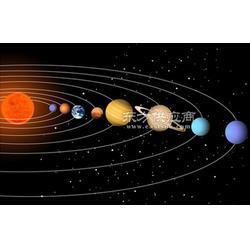太阳系立体八大行星 环境布置墙面操作星球模型半球罩圆球罩图片