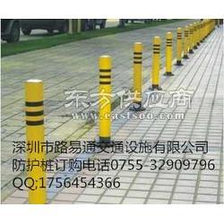 业生产和安装道路防护桩 防撞柱图片