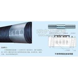 HDPE塑钢缠绕管厂家图片
