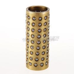 硅胶模导套,精密滚珠铜导套厂家加工-恒通兴模具配件图片