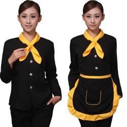 【围裙】、公明防油防水围裙订制、依德莱服饰图片
