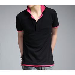 (T恤衫)、供应石岩丝光棉T恤衫、依德莱服饰图片