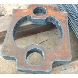 吴堡钢板,锰钢板打孔焊接加工,西安钢板零切割(认证商家)图片